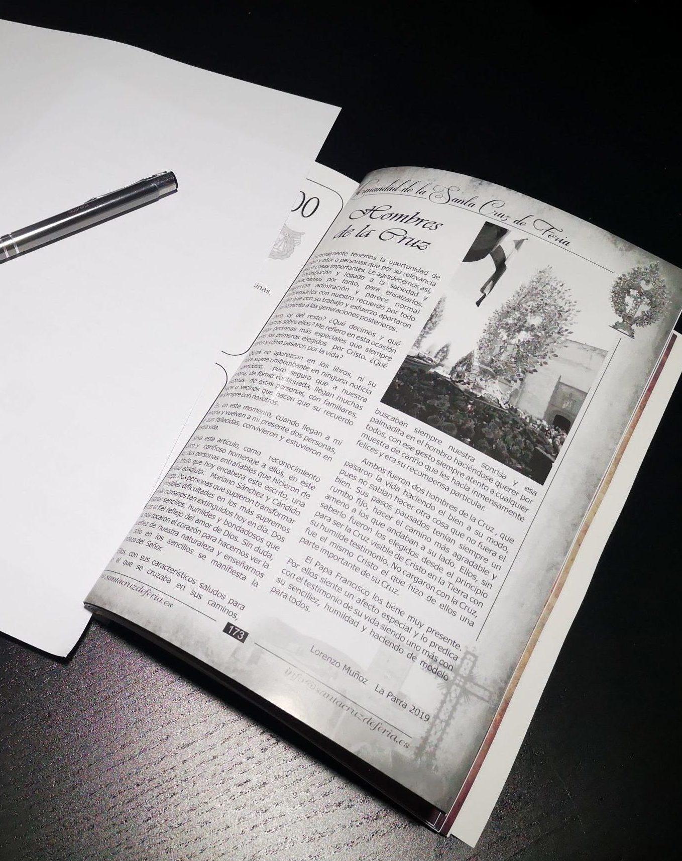 Plazo para aportación de fotos y textos para la Revista